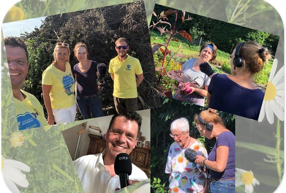 """""""Gärtnern für das Klima"""" – Beiträge der Marktgemeinde Bisamberg im Ö1-Radiokolleg"""