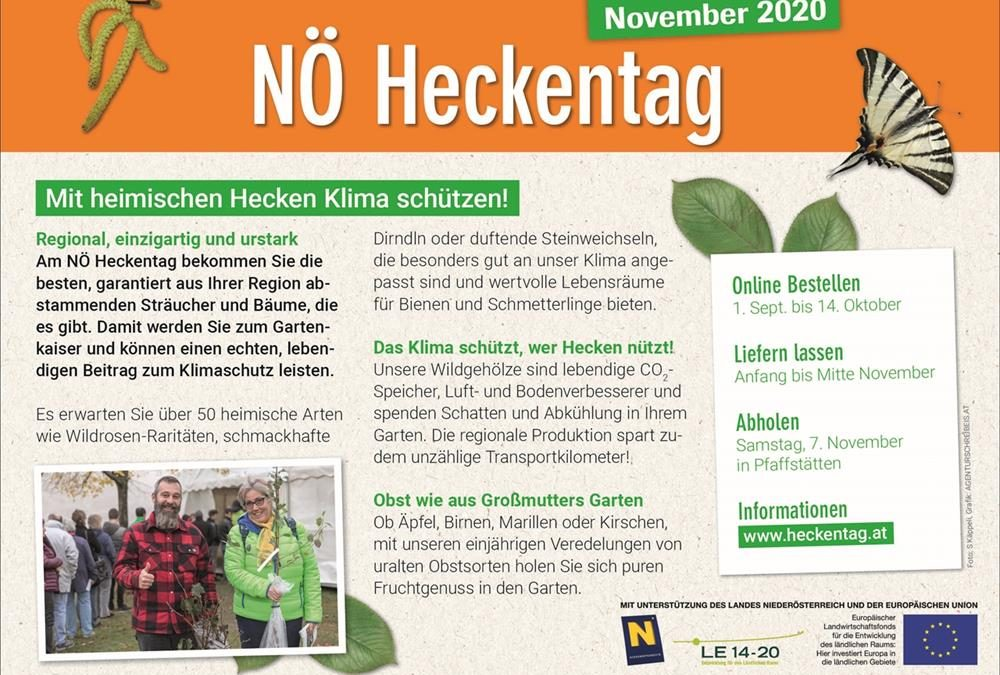 NÖ Heckentag November 2020