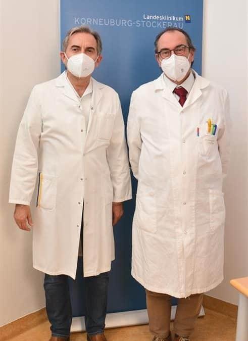 Interview mit Dr. Ernstberger und Pflegeleiter Glaser zum Thema Pflegemedizin