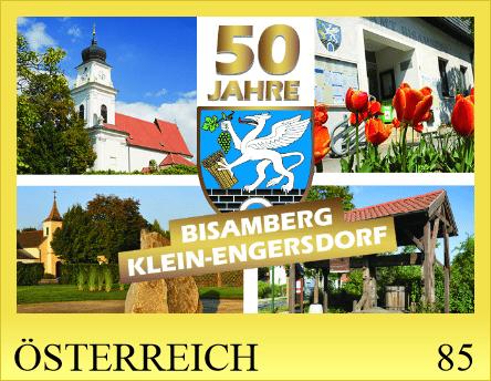 Sondermarke 50 Jahre Bisamberg