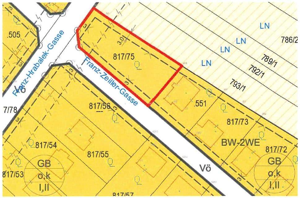 Grundstücksverkauf durch die MG Bisamberg